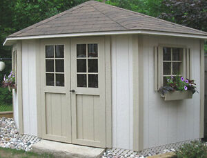 1year old - 5 Sided Shed