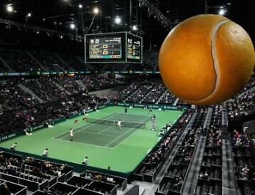 ABN AMRO World Tennis Tournement - Eerste ronde Ahoy - Te...
