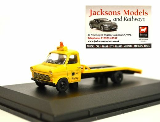 Oxford 76FTB002 Ford Transit Mk1 Beavertail AA 1:76 Scale