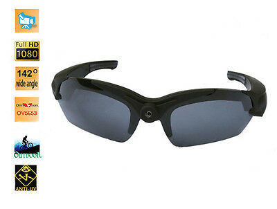 Video Sunglassess : Full HD 1080P 30fps Video Sport Sunglasses (32 GB (Cheap Sunglasses Video)