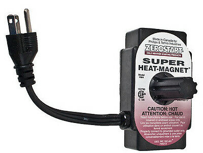Magnetic Engine Block Heater For Tractors Or Other Equipment - Zerostart Brand