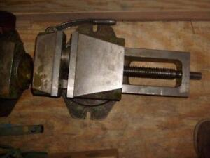 "8"" machine vise, swivel heavy duty"