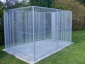 brand new galvanised dog run panels lifetime guarantee