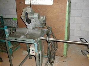 eisle aluminum cutoff saw, 10 in dia. blade, 3-1/2in round capacity, 550 volt 3 phase electrics
