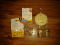 EUC Single Pump Medela Swing. with New Accessories