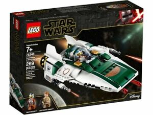 LEGO 75248 - STAR WARS RESISTANCE A-WING STARFIGHTER - BRAND NEW