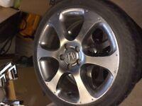 """18"""" Honda Storm alloy wheels"""