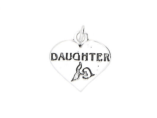 STERLING SILVER DAUGHTER CHARM OR PENDANT