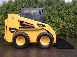 2008 Cat 236b skid steer