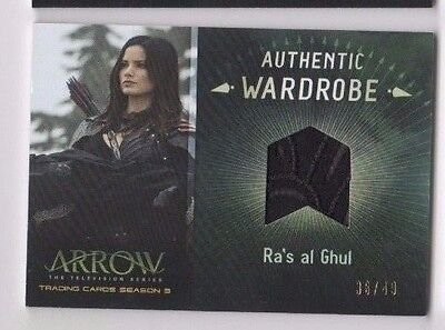 Cryptozoic Arrow Season 3 costume card M13 Ra's al Ghul 36/49