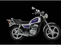 Looking for a moped/scooter 50cc to 125cc
