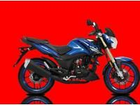 2017 LEXMOTO ZSX-R 125CC, 0% DEPOSIT FINANCE AVAILABLE