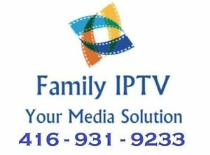 IPTV Boxes + Subscriptions - Barrie - CALL NOW!