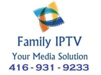 IPTV Brampton - Fast,HD+Reliable! 1000s Channels, Sports +VOD!