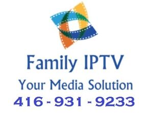 IPTV! #1 Media Solution in Peel! 2 months FREE! Contact TODAY!