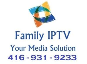 Family IPTV Brampton - 1000s of Channels, Movies, Shows + Sports