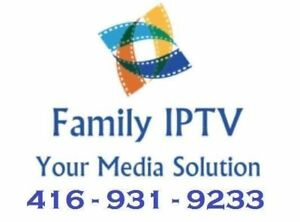 Family IPTV Regina - 1000s of Channels, Movies, Shows + Sports