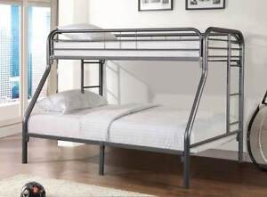 Single over Double Metal Bunk Bed NEW by Bunk Beds Canada