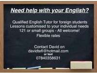 English teacher - Poole, Bournemouth, Christchurch