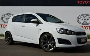2015 Holden Barina TM MY16 CD White 6 Speed Automatic Hatchback Warwick Southern Downs Preview