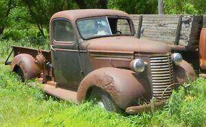 Recherche pickup chevrolet 1939