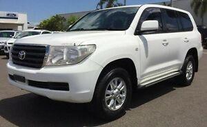 2009 Toyota Landcruiser VDJ200R GXL White 6 Speed Sports Automatic Wagon Berrimah Darwin City Preview