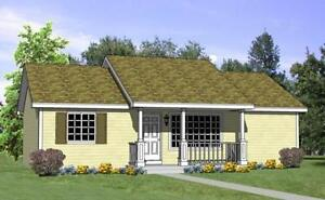 NEW $128,800 4 BED BUNGALOW 2 BATH 1040 CONSTRUCTED ON YOUR LOT