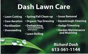 Spring clean ups, Lawn cutting, Landscaping