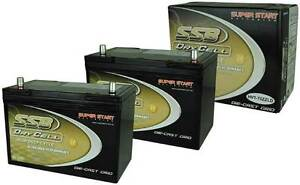 12 VOLT 105AH 780CCA AGM DRYCELL BATTERY DEEP CYCLE HVT70ZZD SSB Adelaide CBD Adelaide City Preview