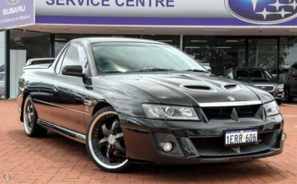 2005 Holden Ute VZ SS Black 4 Speed Automatic Utility