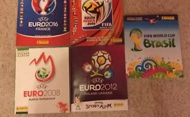 Football stickers & albums wanted