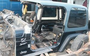 REDUCED 2000 Jeep TJ Tub for sale project / build