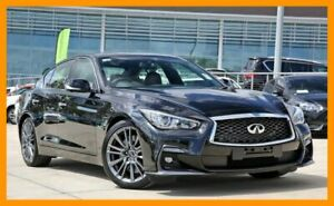 2018 Infiniti Q50 V37 Red Sport Black 7 Speed Sports Automatic Sedan Mount Gravatt Brisbane South East Preview