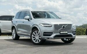 2015 Volvo XC90 L Series MY16 D5 Geartronic AWD Inscription Silver 8 Speed Sports Automatic Wagon Somersby Gosford Area Preview