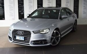 2016 Audi A6 4G MY16 S Line S tronic Silver 7 Speed Sports Automatic Dual Clutch Sedan Kings Meadows Launceston Area Preview