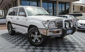 2003 Toyota Landcruiser UZJ100R GXL White 5 Speed Automatic Wagon Alfred Cove Melville Area Preview