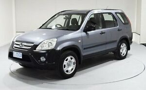 2006 Honda CR-V RD MY2006 4WD Grey 5 Speed Manual Wagon Invermay Launceston Area Preview