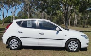 2009 Hyundai i30 FD MY09 SX White 4 Speed Automatic Hatchback Bundaberg West Bundaberg City Preview