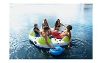 Oasis  5-6 person inflatable party raft with motor!