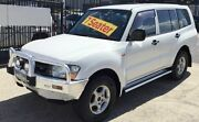 2001 Mitsubishi Pajero NM UNDER CONTRACT GLX AUTOMATIC 4X4 7 SEATS White 5 Speed Automatic Wagon Underwood Logan Area Preview