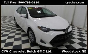 2017 Toyota Corolla LE - Heated Seats & Rear Camera