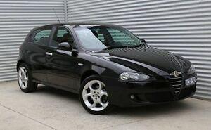 2005 Alfa Romeo 147 MY2005 Twin Spark Black 5 Speed Manual Hatchback Thomastown Whittlesea Area Preview