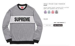 Supreme size medium logo crewneck and arc logo hoodie brand new