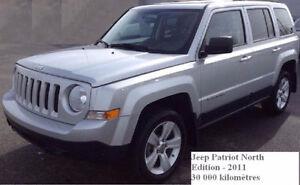 2011 Jeep Patriot VUS- bas kilométrage- vente/ peux financer