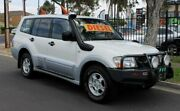 2004 Mitsubishi Pajero NP GLS LWB (4x4) White 5 Speed Auto Sports Mode Wagon Klemzig Port Adelaide Area Preview