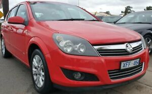 2008 Holden Astra AH MY08 CDX Red 5 Speed Manual Hatchback Cheltenham Kingston Area Preview