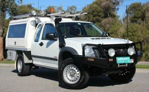 2011 Isuzu D-MAX MY11 SX Space Cab White 5 Speed Manual Cab Chassis Officer Cardinia Area Preview
