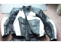 Frank Thomas Kinetic Leather Motorcycle Jacket