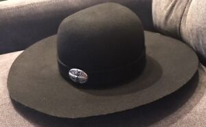 AUTHENTIC CHROME HEARTS Limited Edition Wool Felt Hat