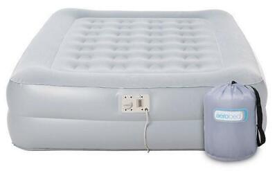 Aerobed Sleepsound Raised Double Inflatable Raised Airbed &